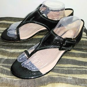 Matisse women's patent leather toe ring sandals